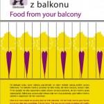 jedzenie z balkonu